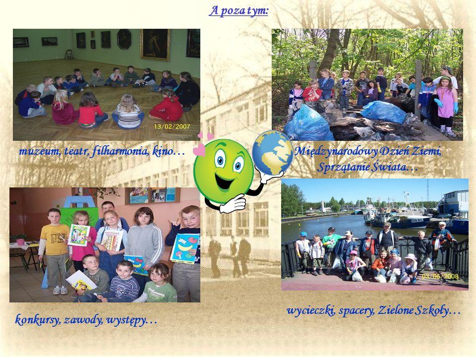 Międzynarodowy Dzień Ziemi, Sprzątanie Świata…