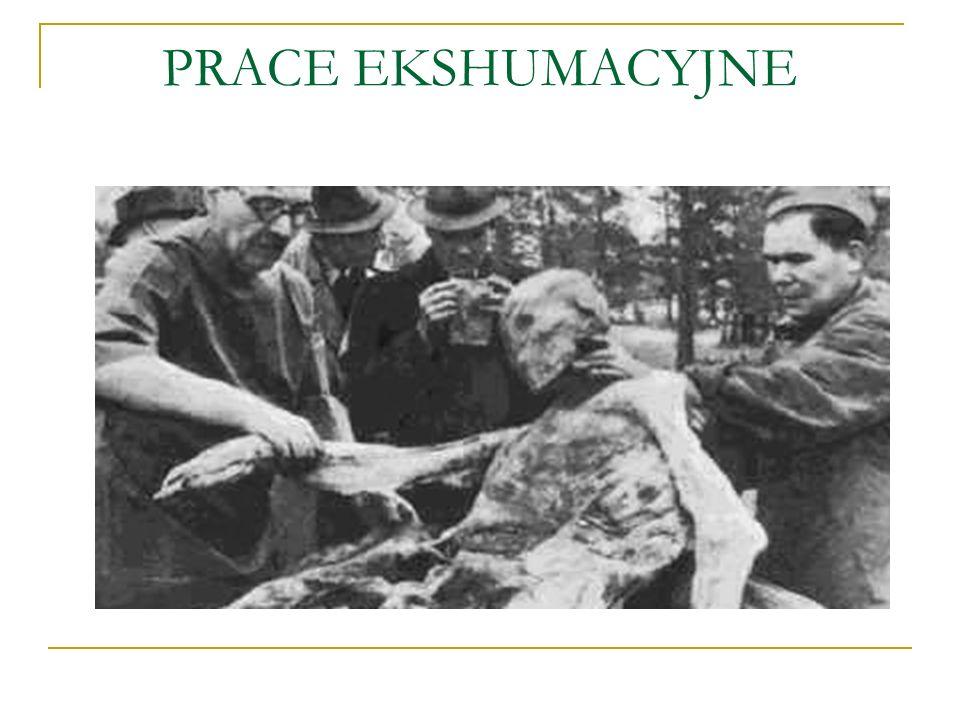 PRACE EKSHUMACYJNE