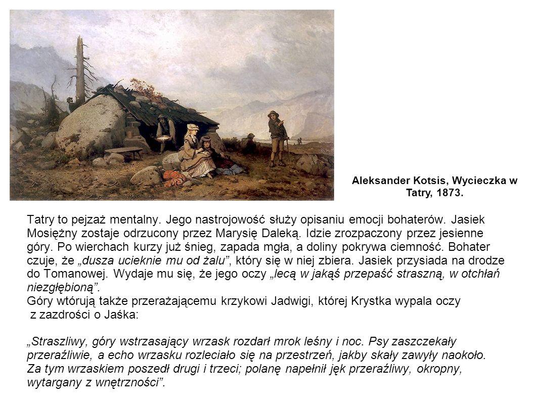 Aleksander Kotsis, Wycieczka w Tatry, 1873.