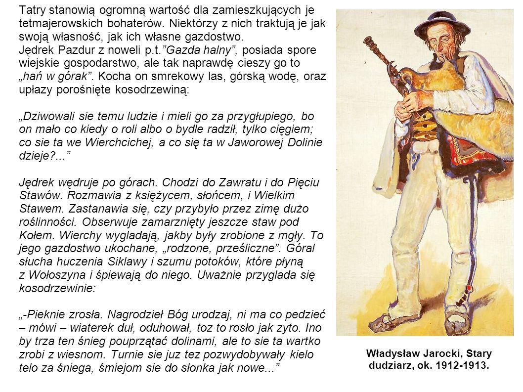 Władysław Jarocki, Stary dudziarz, ok. 1912-1913.