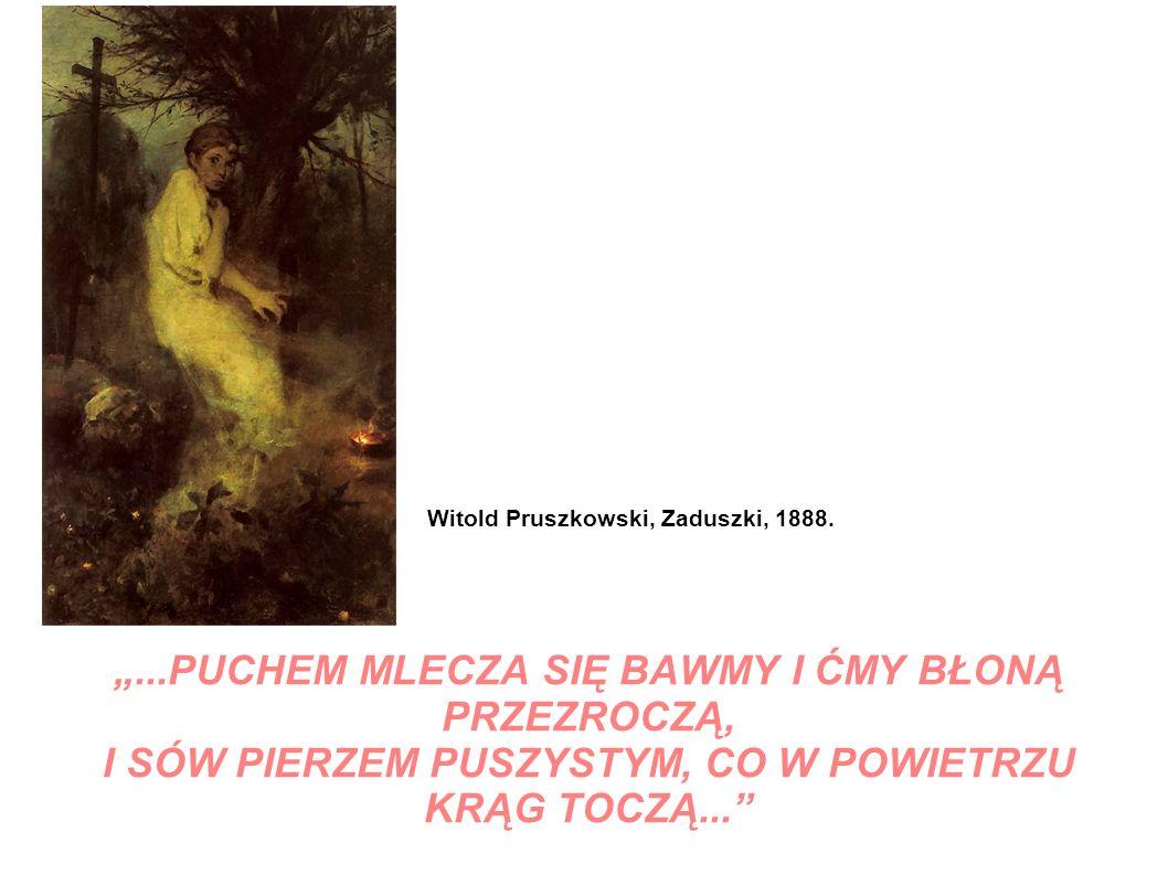 Witold Pruszkowski, Zaduszki, 1888.