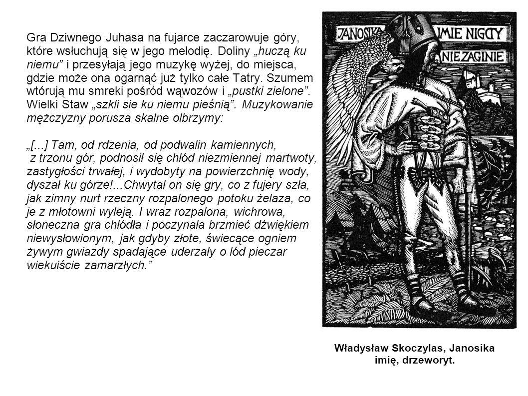 Władysław Skoczylas, Janosika imię, drzeworyt.