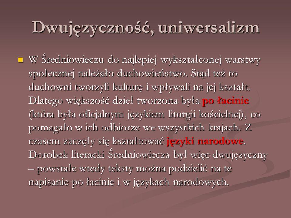 Dwujęzyczność, uniwersalizm