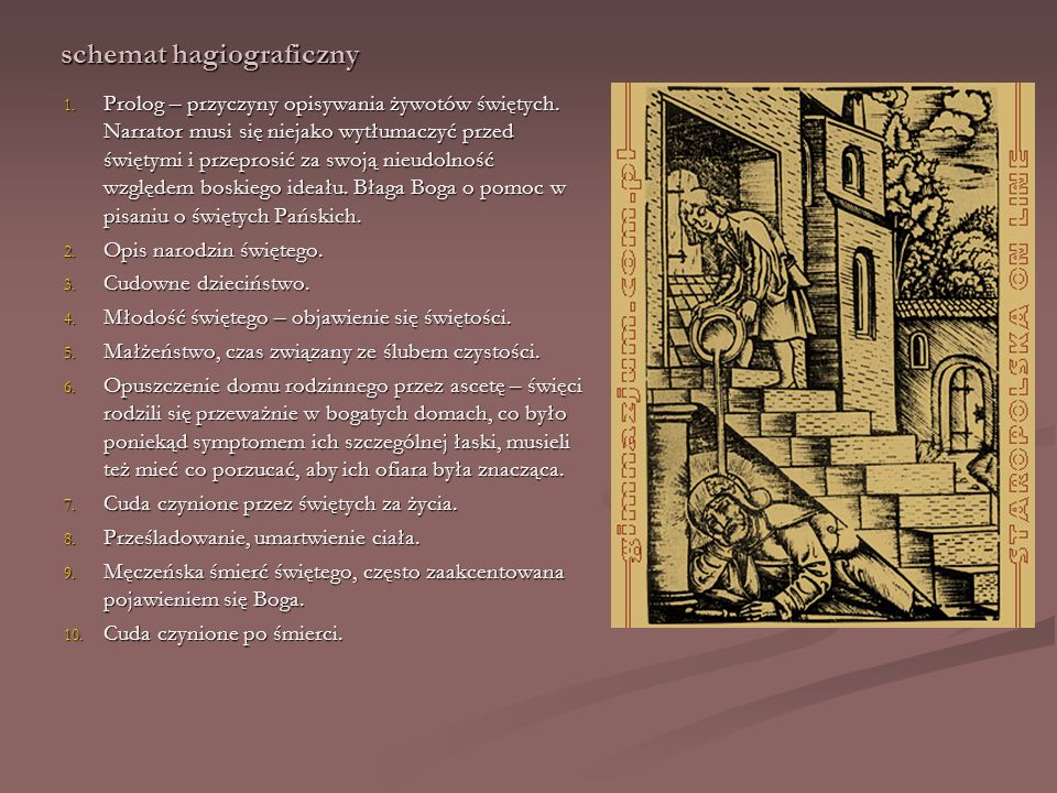 schemat hagiograficzny