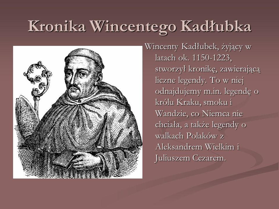 Kronika Wincentego Kadłubka