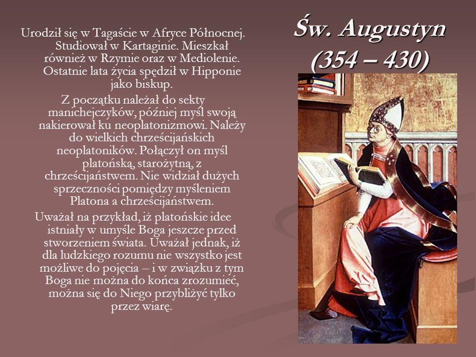 Św. Augustyn (354 – 430)