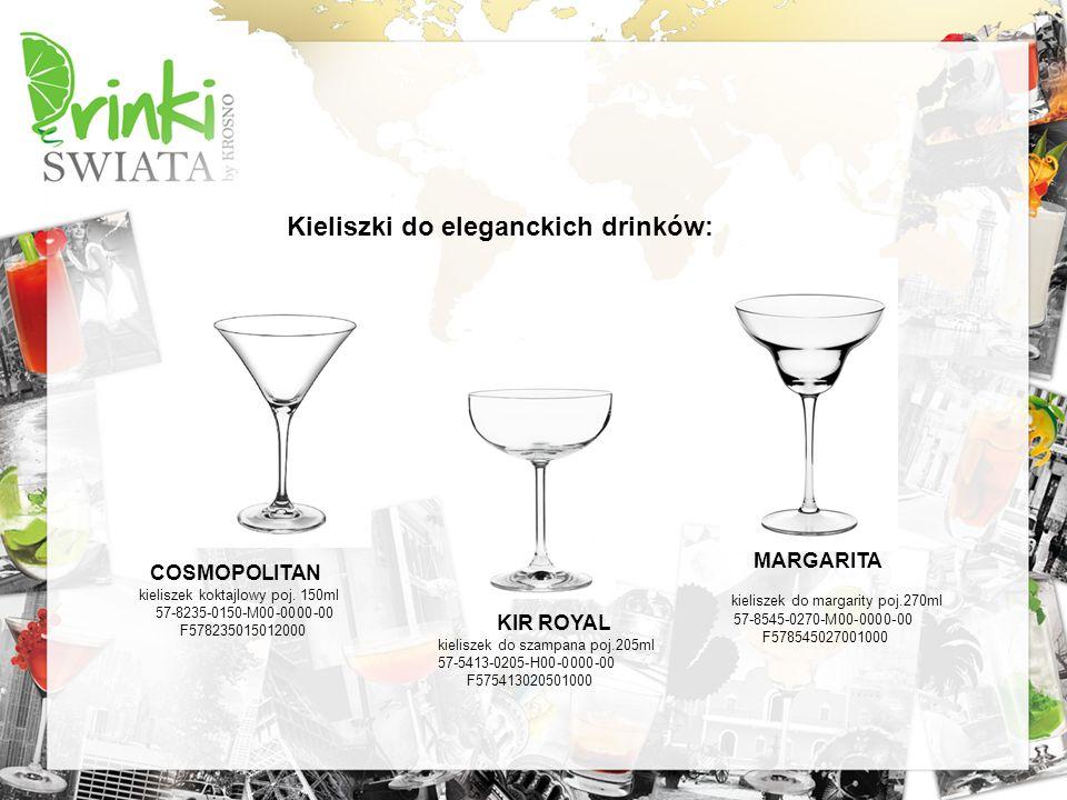 Kieliszki do eleganckich drinków: