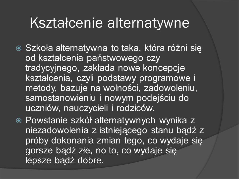 Kształcenie alternatywne