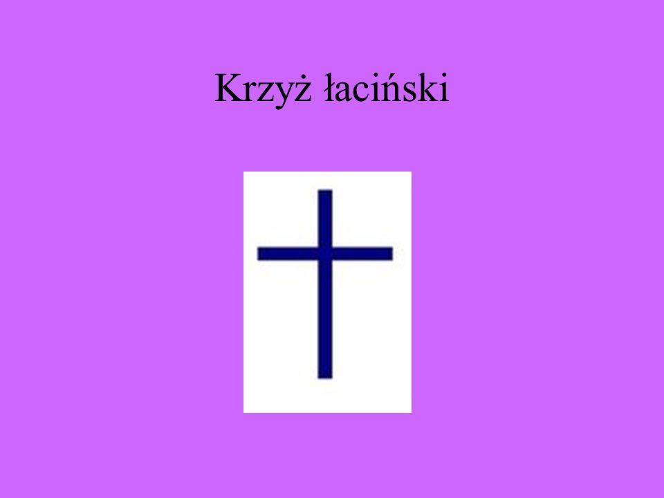 Krzyż łaciński