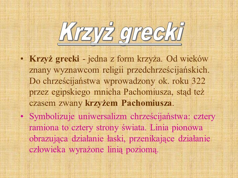 Krzyż grecki