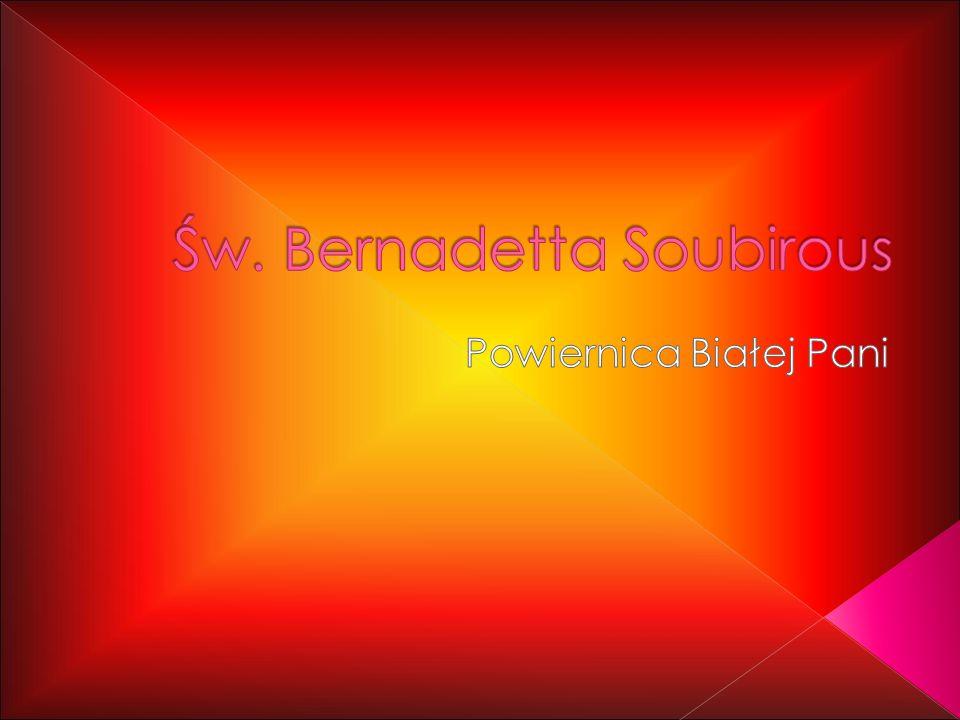 Św. Bernadetta Soubirous