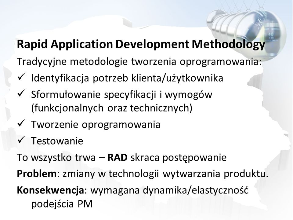 Rapid Application Development Methodology
