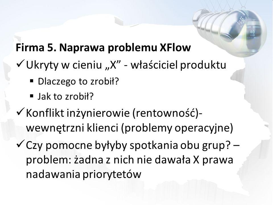 Firma 5. Naprawa problemu XFlow