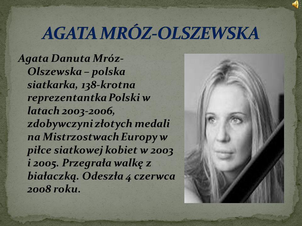 AGATA MRÓZ-OLSZEWSKA