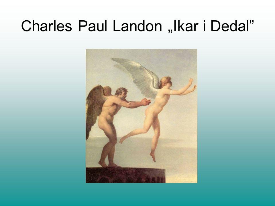 """Charles Paul Landon """"Ikar i Dedal"""
