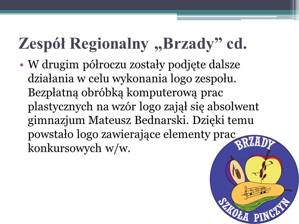"""Zespół Regionalny """"Brzady cd."""
