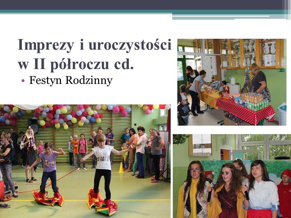 Imprezy i uroczystości w II półroczu cd.