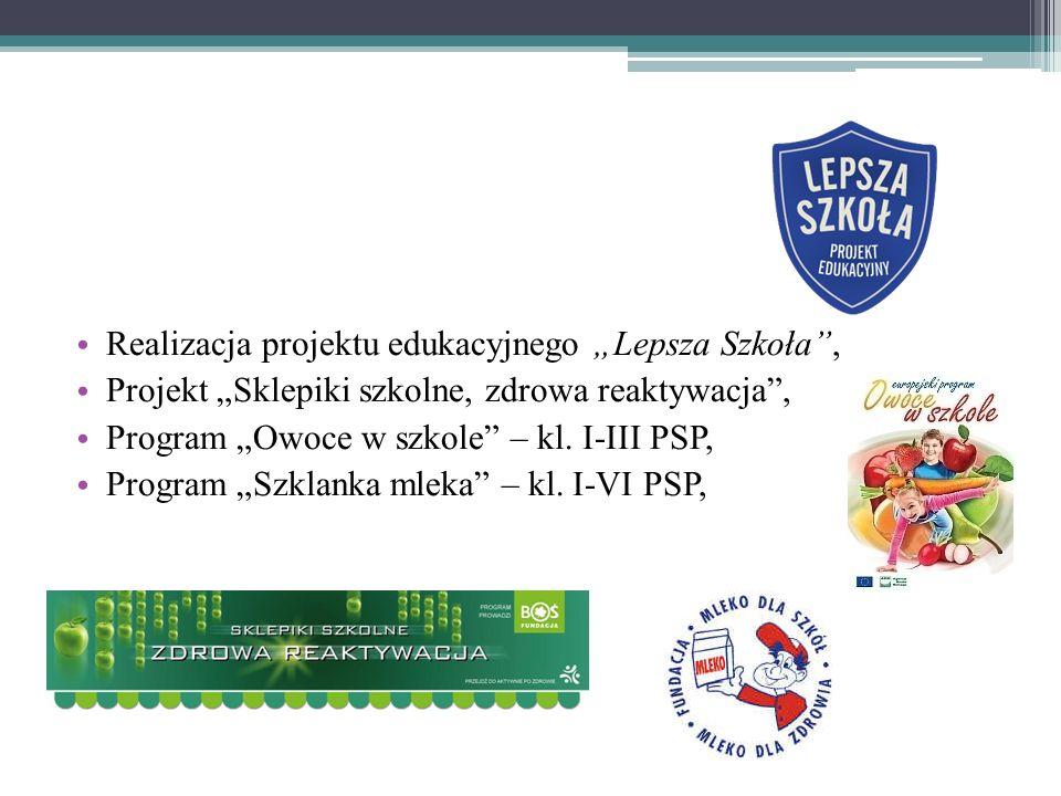 """Realizacja projektu edukacyjnego """"Lepsza Szkoła ,"""