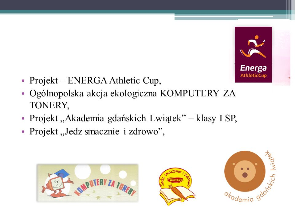 Projekt – ENERGA Athletic Cup,