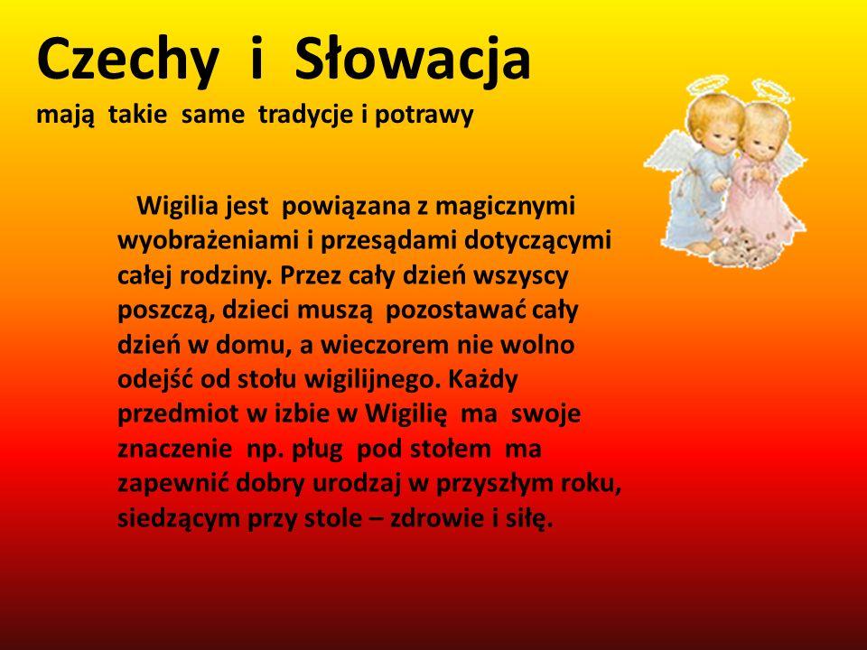 Czechy i Słowacja mają takie same tradycje i potrawy