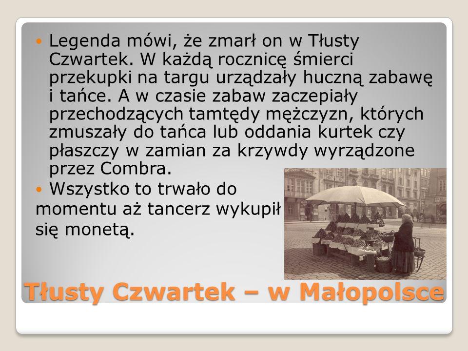 Tłusty Czwartek – w Małopolsce