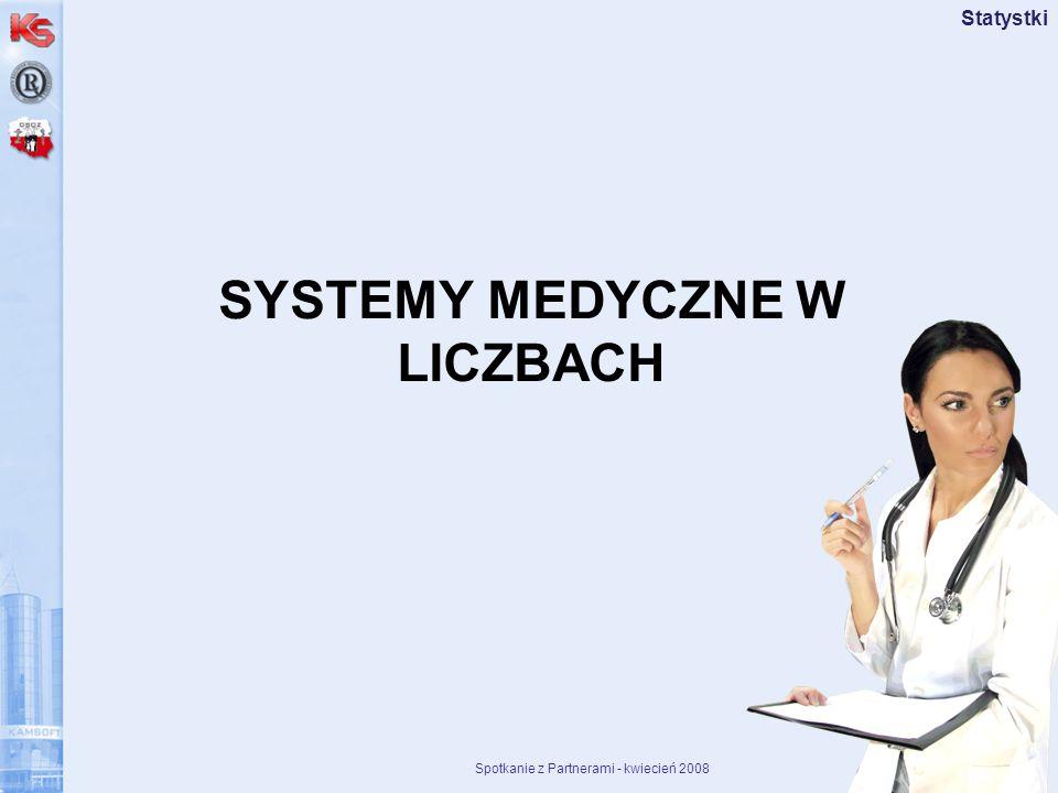 SYSTEMY MEDYCZNE W LICZBACH