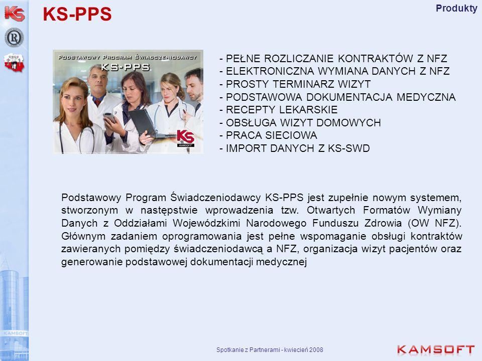 Spotkanie z Partnerami - kwiecień 2008