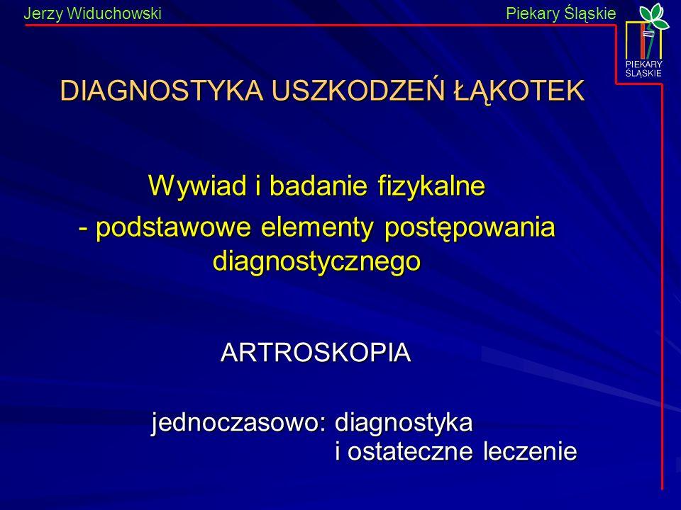 DIAGNOSTYKA USZKODZEŃ ŁĄKOTEK
