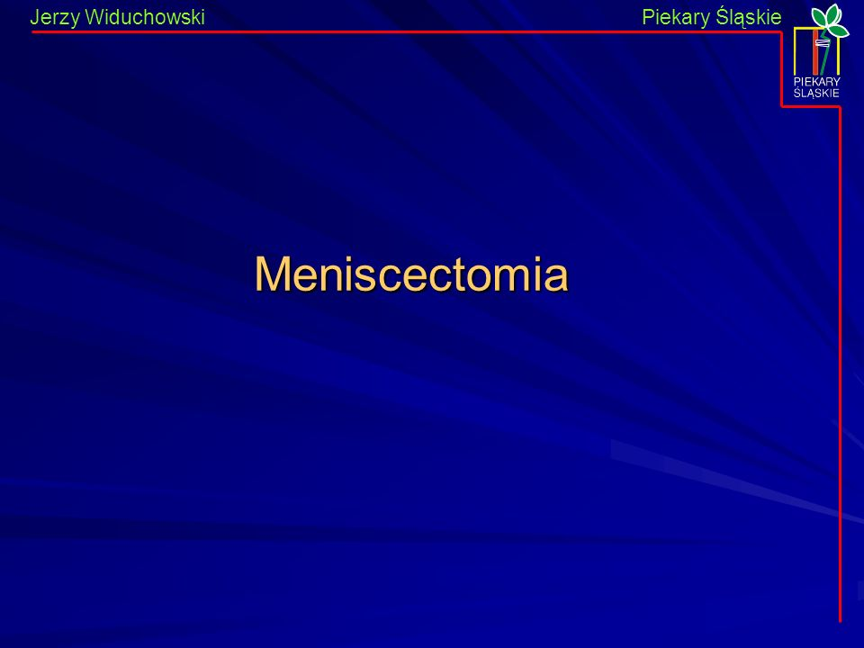 Meniscectomia