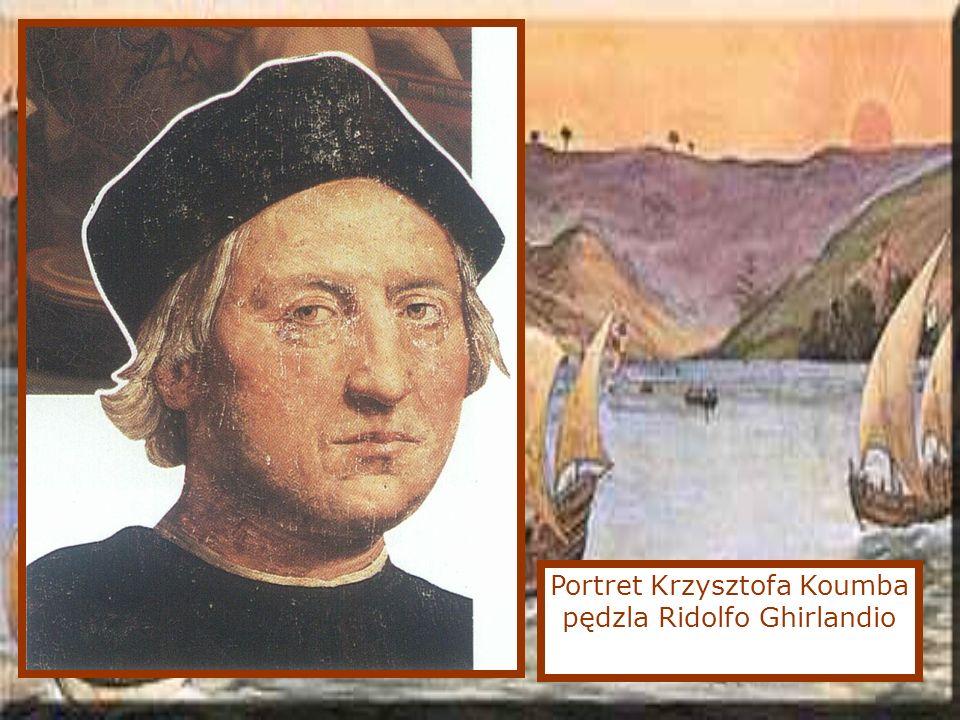 Portret Krzysztofa Koumba pędzla Ridolfo Ghirlandio