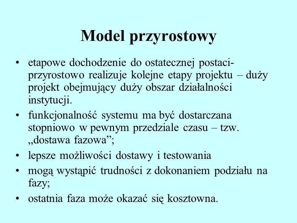 Model przyrostowy