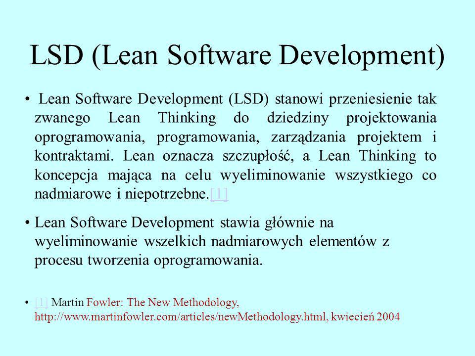 LSD (Lean Software Development)