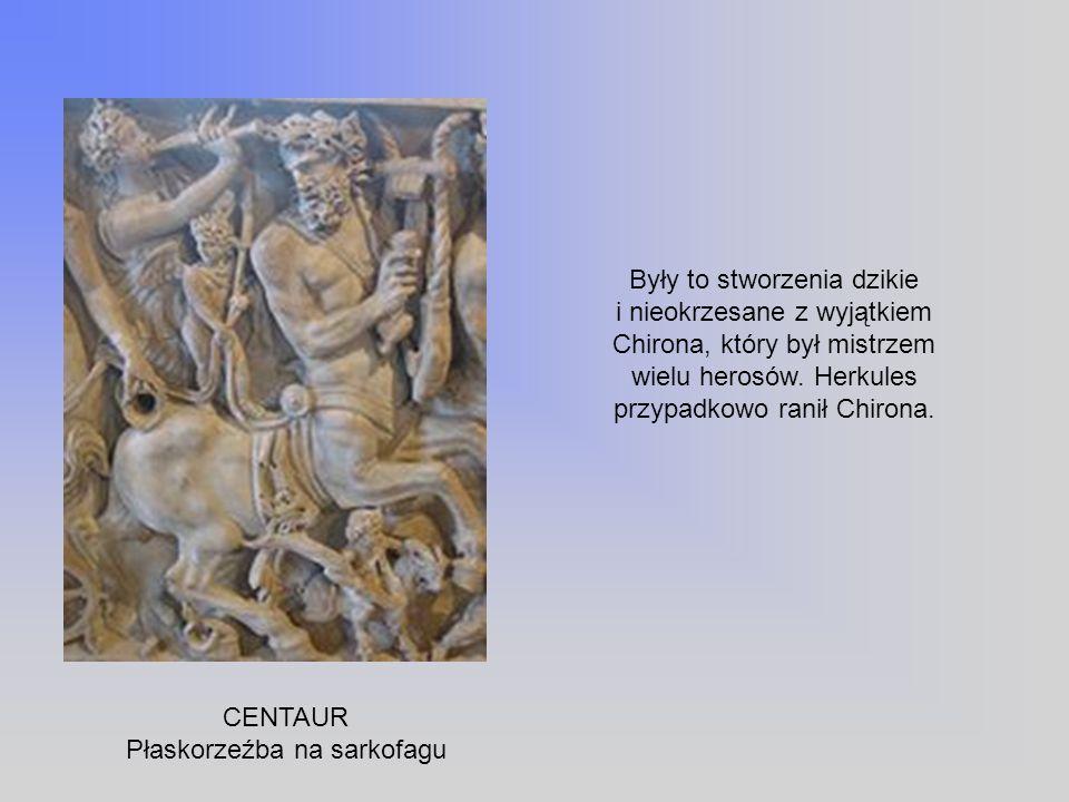 Płaskorzeźba na sarkofagu
