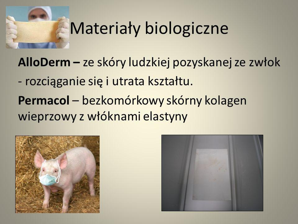 Materiały biologiczne