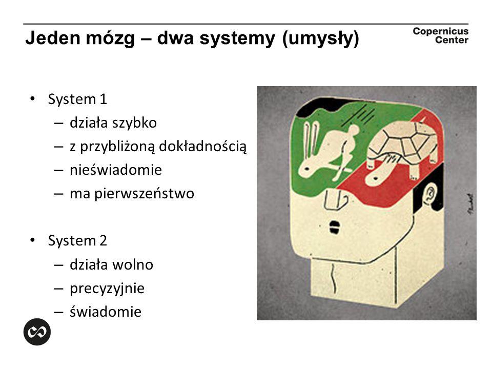 Jeden mózg – dwa systemy (umysły)