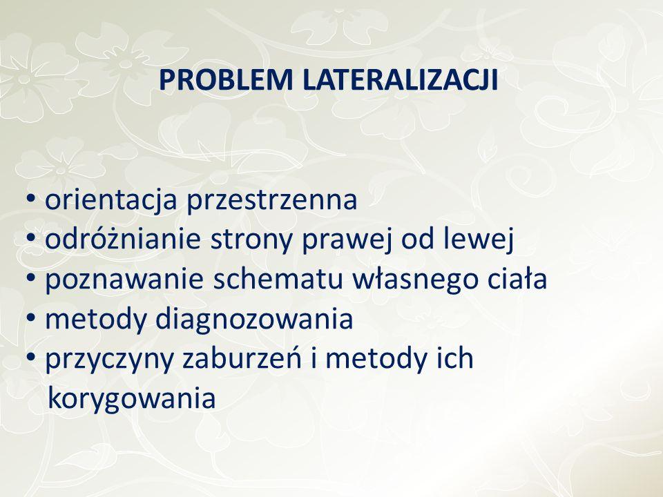 PROBLEM LATERALIZACJI