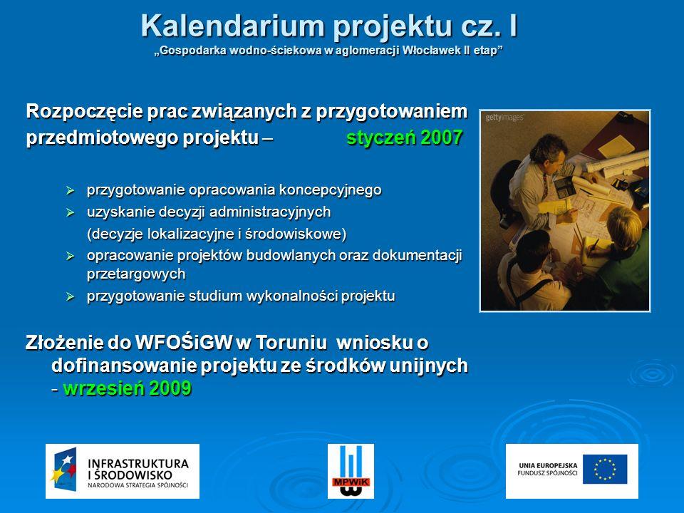 Kalendarium projektu cz. I