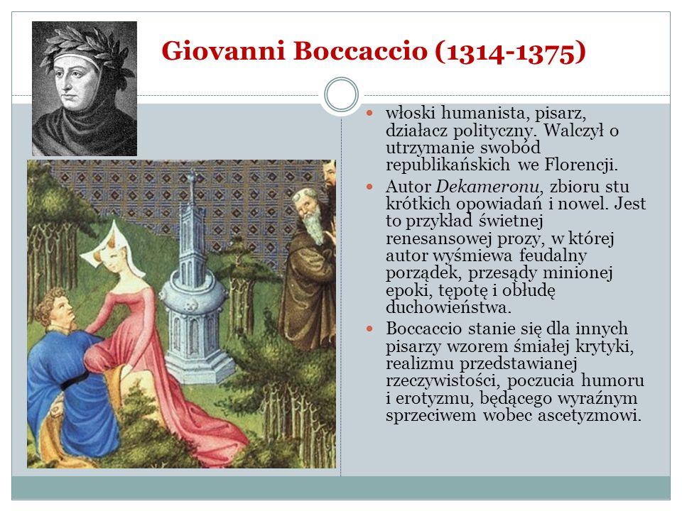 Giovanni Boccaccio (1314-1375)