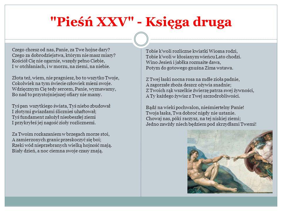 Pieśń XXV - Księga druga