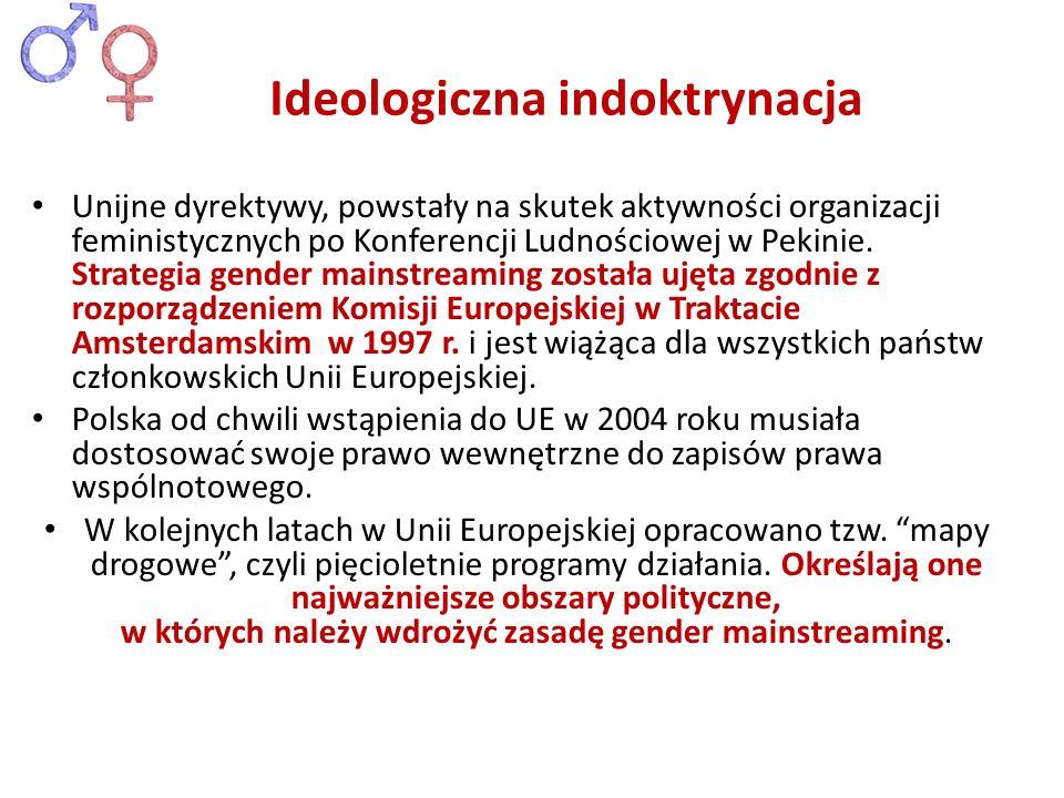Ideologiczna indoktrynacja