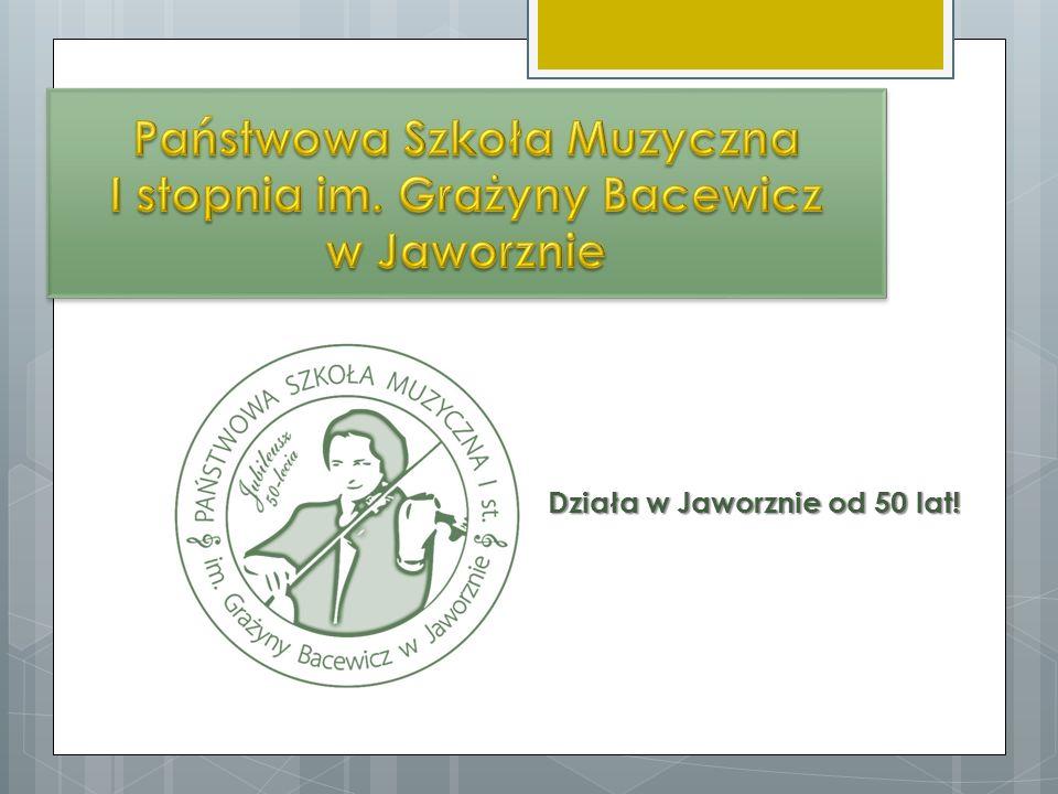 Państwowa Szkoła Muzyczna I stopnia im. Grażyny Bacewicz w Jaworznie