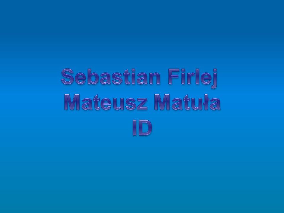 Sebastian Firlej Mateusz Matuła ID