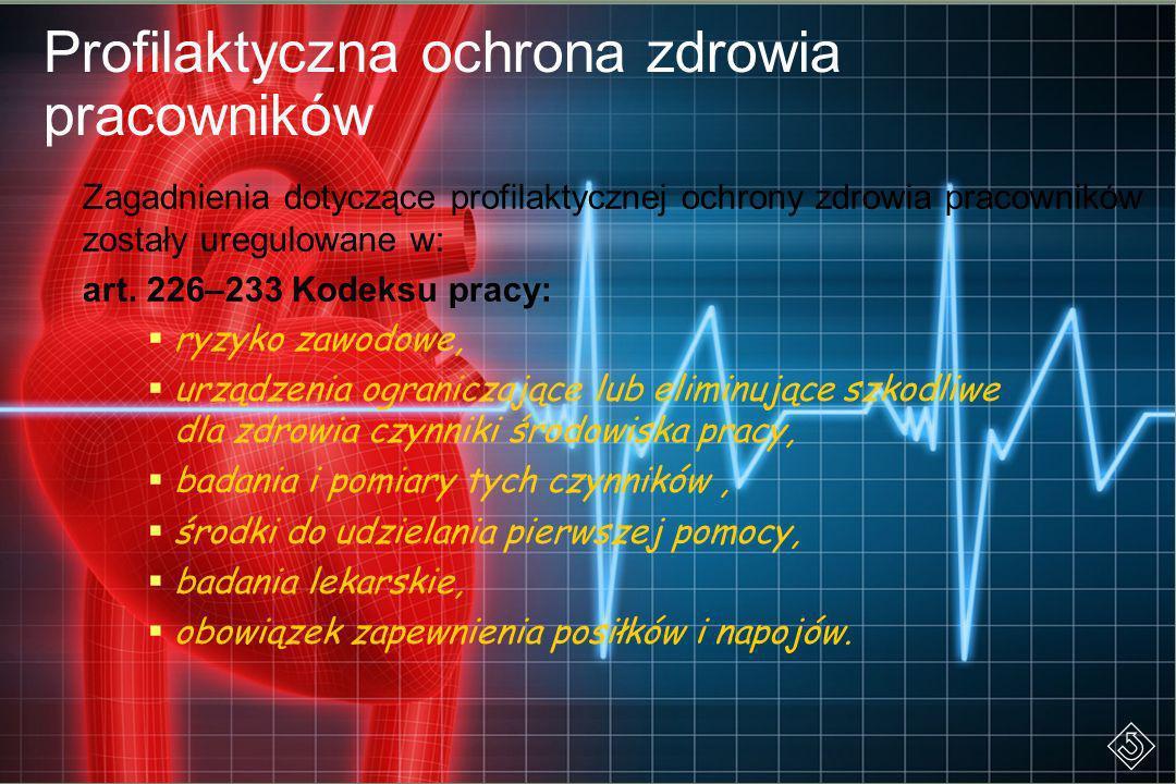Profilaktyczna ochrona zdrowia pracowników