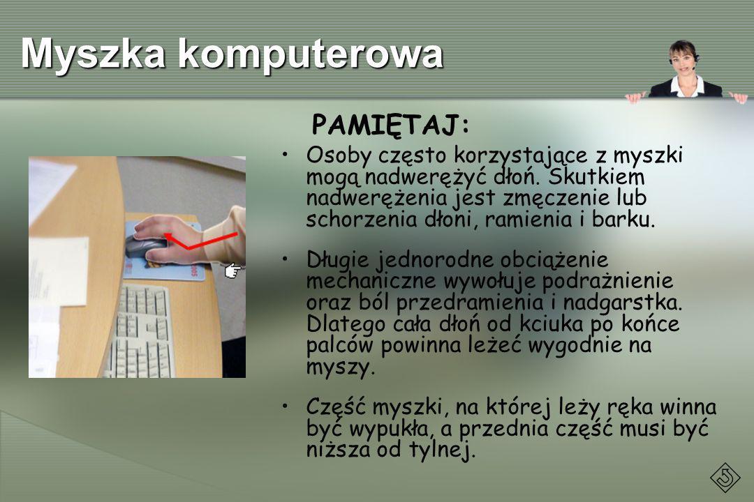 Myszka komputerowa PAMIĘTAJ: