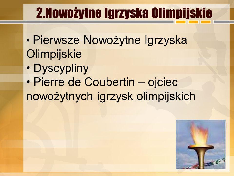2.Nowożytne Igrzyska Olimpijskie