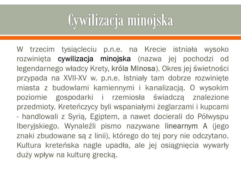 Cywilizacja minojska