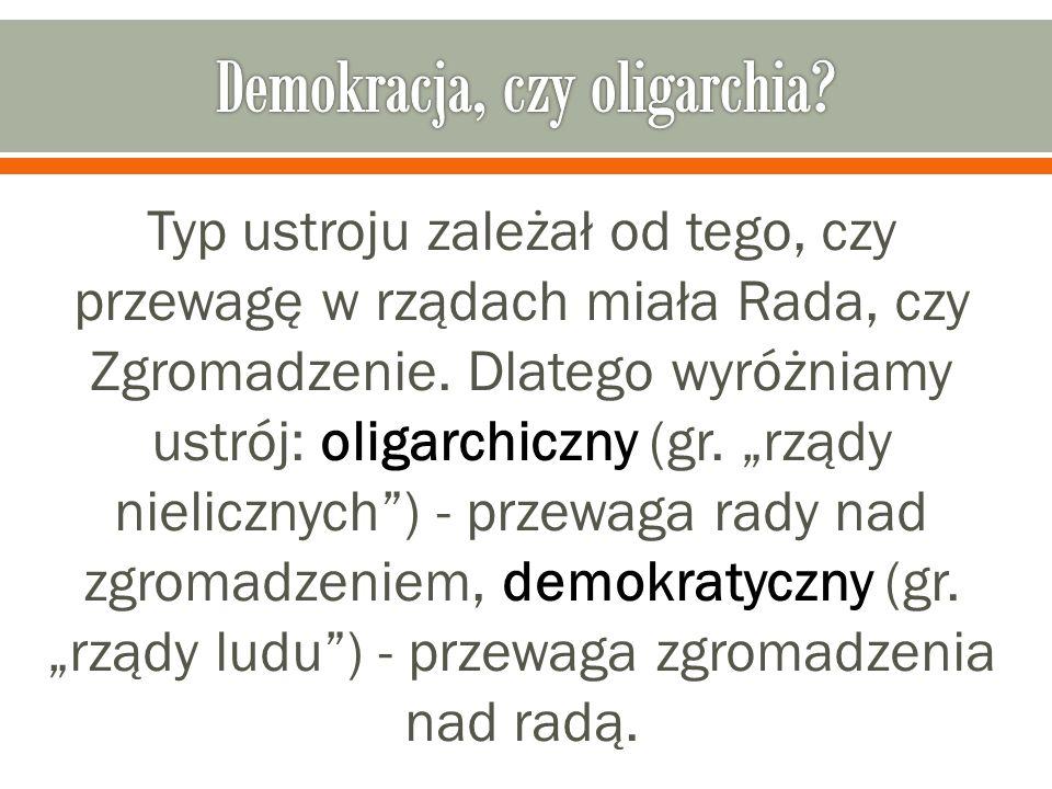 Demokracja, czy oligarchia