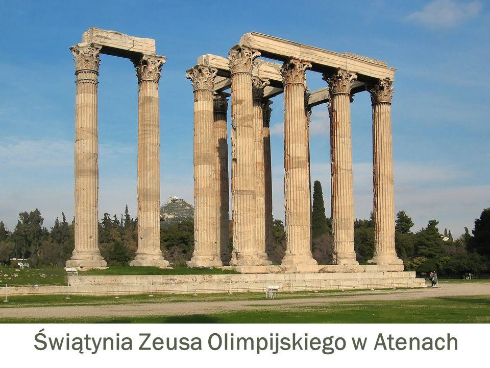 Świątynia Zeusa Olimpijskiego w Atenach