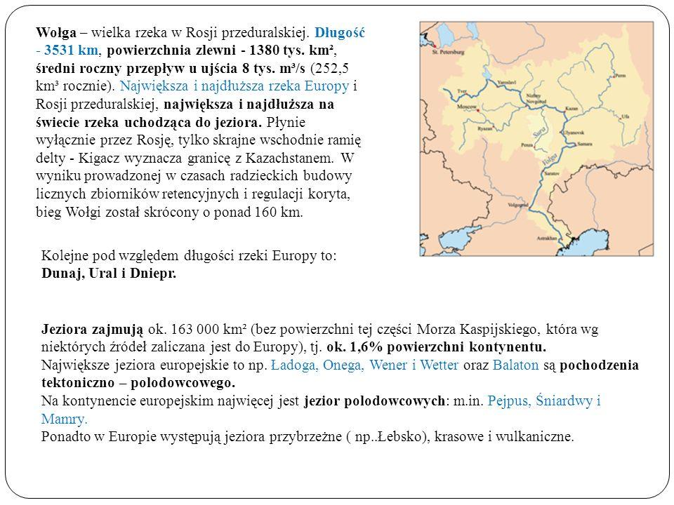 Wołga – wielka rzeka w Rosji przeduralskiej
