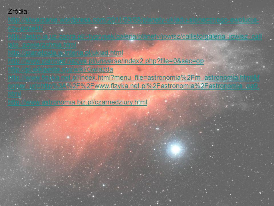 Źródła: http://stwarzanie.wordpress.com/2011/03/05/planety-ukladu-slonecznego-ewolucja-czy-projekt/